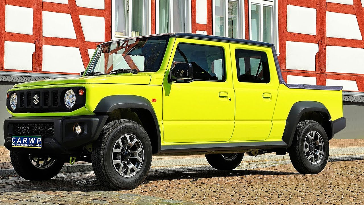 Berühmt RENDER 2020 Suzuki Jimny Pickup - YouTube #KO_24