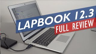 Chuwi Lapbook 12.3 review, the first laptop to use the Microsoft Su...