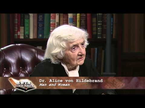 EWTN Bookmark- 2013-02-17- Dr. Alice vonHildebrand - Man and Woman
