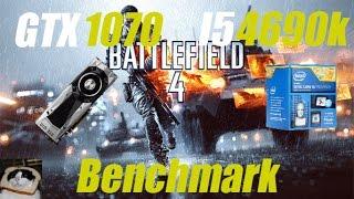 Nvidia GTX 1070 - Battlefield 4 1080p Gameplay