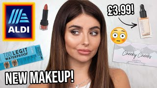 Testing *NEW* ALDI makeup! First impressions, review + WEAR TEST! SO many DUPES!! [JULY 2020]