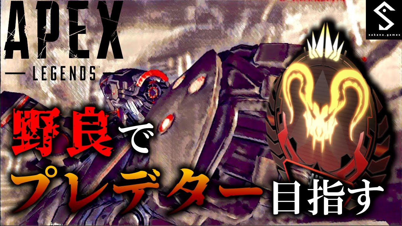 【APEX PS4 】社会人野良プレデター日記36日目 ごはんから帰還【野良専,猫カメラ有】