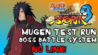 NARUTO Shippuden: Ultimate MUGEN Storm 3 - Naruto & Sasuke VS Madara