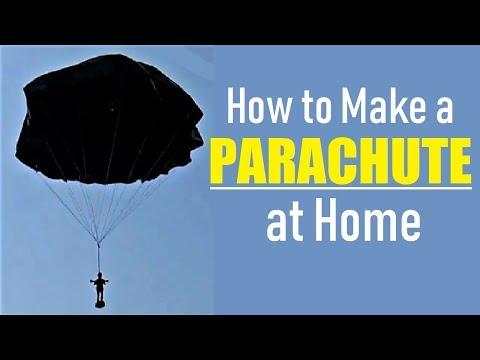 How to Make a Parachute - DIY Easy Plastic Parachute