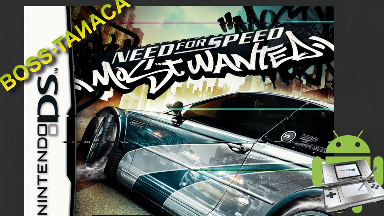 Need For Speed Most Wanted For Nintendo Ds Nds Gameplay On