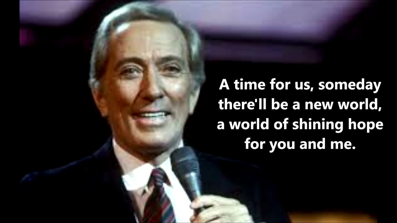 Andy Williams - A Time For Us (Romeo & Juliet)