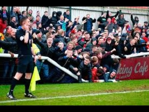 The Goals That Brought The Barrier Down - Woking V Aldershot Town
