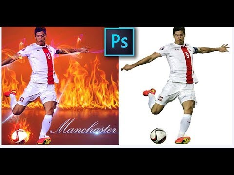football photoshop tutorial fire action | sports photoshop tutorials