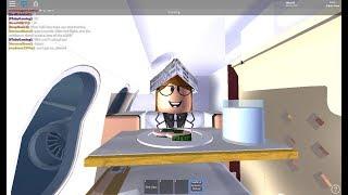 ROBLOX Etihad Airways Flight Cruising!