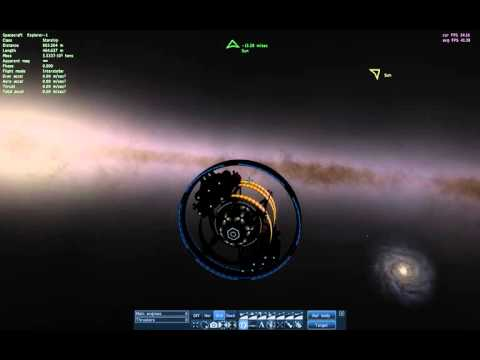 Landing on a Random Gas Giant's Moon in the Triangulum Galaxy