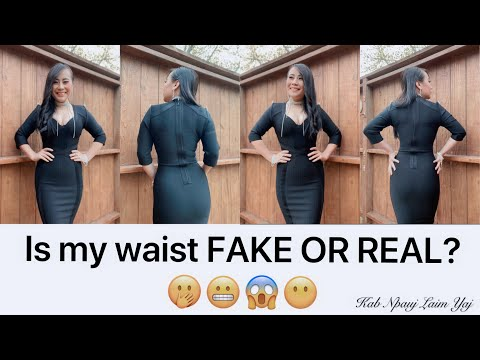 Is my waist fake or real? 🤭😬😱😶