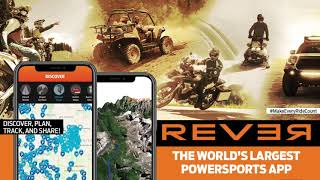 Gambar cover REVER: The App For Riders, By Riders.