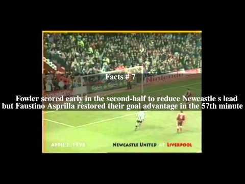Liverpool F.C. 4–3 Newcastle United F.C. (1996) Top # 13 Facts