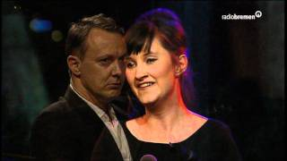 "Anna Prohaska sings ""Der Fischer"" at Talkshow ""3 nach 9"""