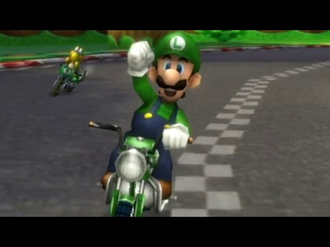 Mario kart wii 150cc banana cup grand prix luigi gameplay youtube - Mario kart wii voiture ...