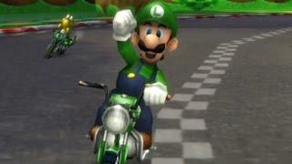 Mario Kart Wii - 150cc Banana Cup Grand Prix (Luigi Gameplay)