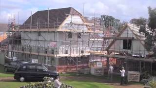 Potton Wickhambrook Self Build Timber Frame House Time Lapse