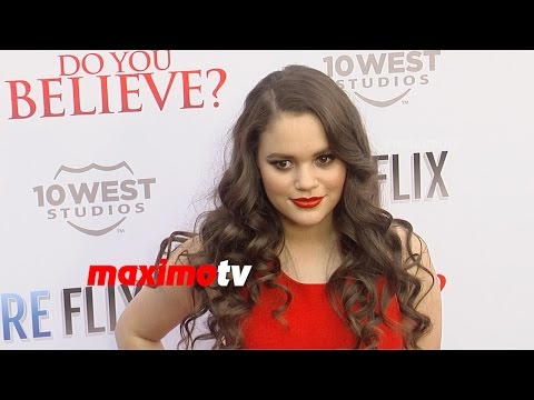 "Madison Pettis ""Do You Believe?"" Los Angeles Premiere Red Carpet"