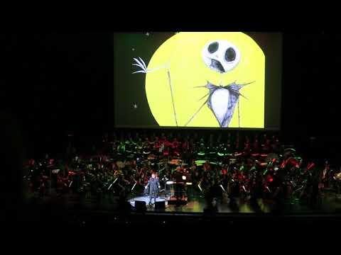 Danny Elfman, Palais des Congrès, Paris. Part 14 - Nightmare Before Christmas, Danny Elfman chante !