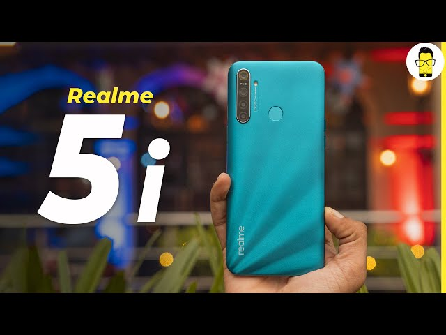 Why does this phone exist? - Realme 5i unboxing & design overview