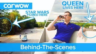 See the incredible place we film our reviews and how we work alongside Star Wars and THE QUEEN!