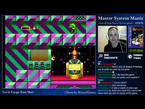 Master System Mania - 57/370 - Taz in Escape from Mars