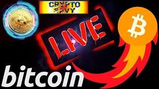 🔥 Crypto Savy LIVE STREAM 🔥 bitcoin litecoin price prediction, analysis, news, trading