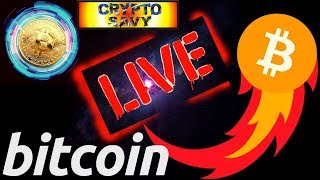 🔥 Crypto Savy LIVE STREAM 🔥 bitcoin litecoin price prediction, analysis, news, trading