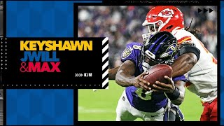 Reacting to the Ravens' thrilling win against the Chiefs | Keyshawn, JWill \u0026 Max