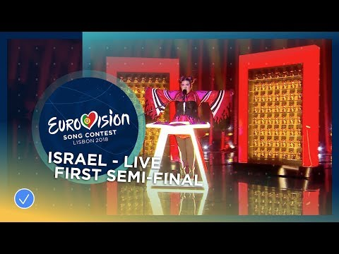 Netta - Toy - Israel - LIVE - First Semi-Final - Eurovision 2018