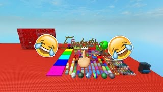 Roblox Exploiting on Let's party 3