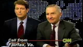 NAFTA: Ross Perot and Al Gore Debate 1993, Part 7 of 8