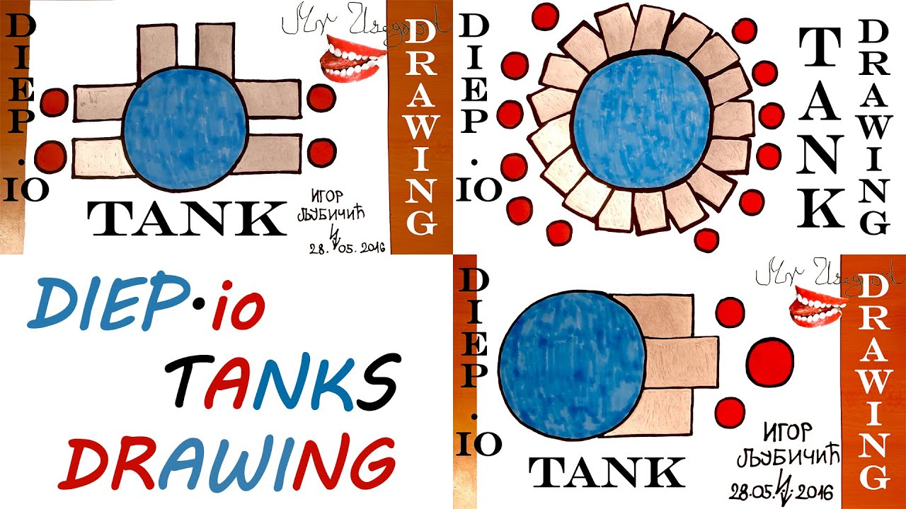 how to draw a tank step by step easy