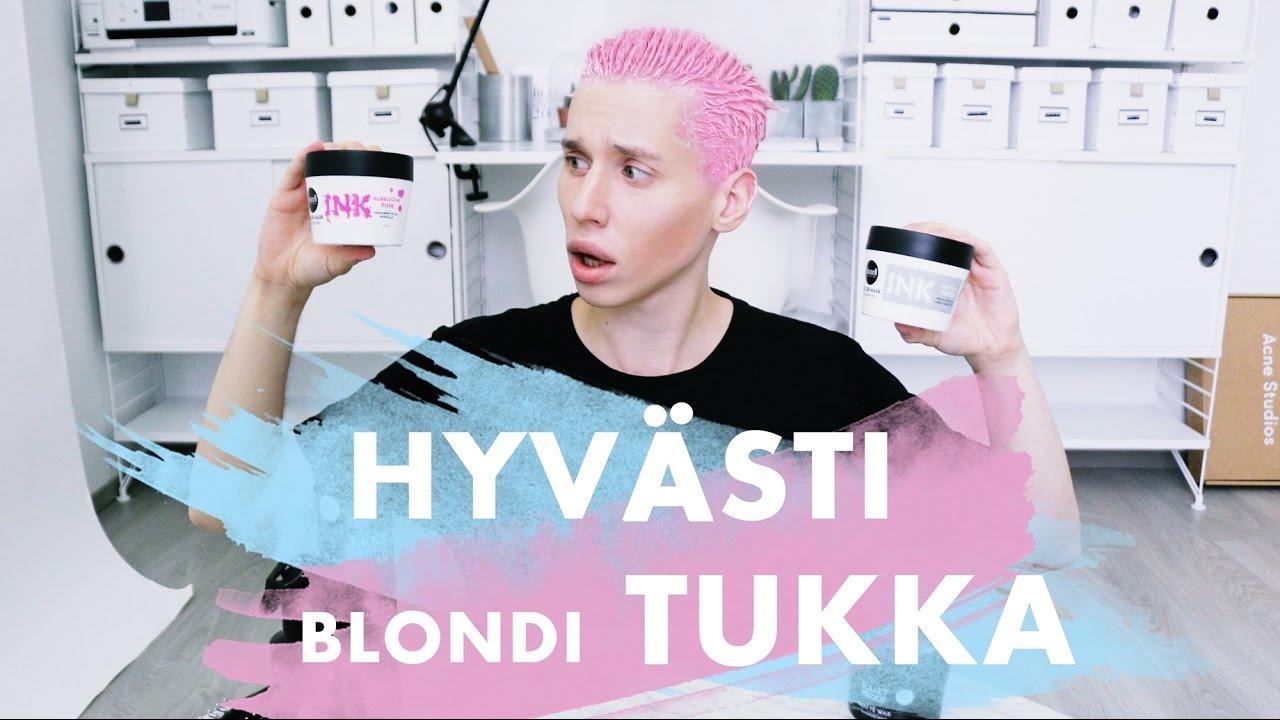 vÄrjÄsin hiukset pinkiksi!!! | naag - youtube