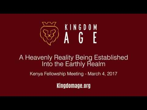 A Heavenly Reality Being Established Into the Earthly Realm | 03-04-2017 | Immanuel Sun