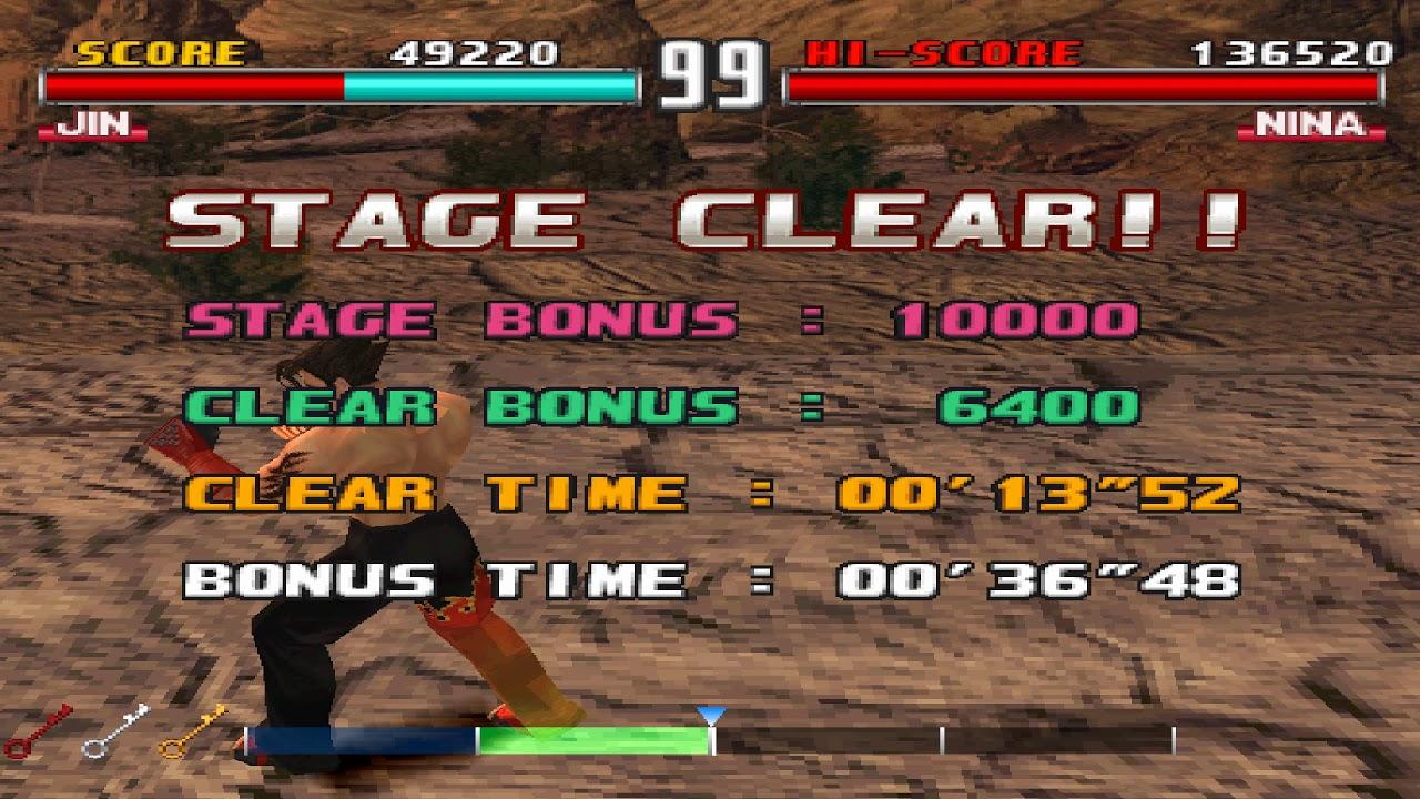 Tekken 3 Jin Tekken Force