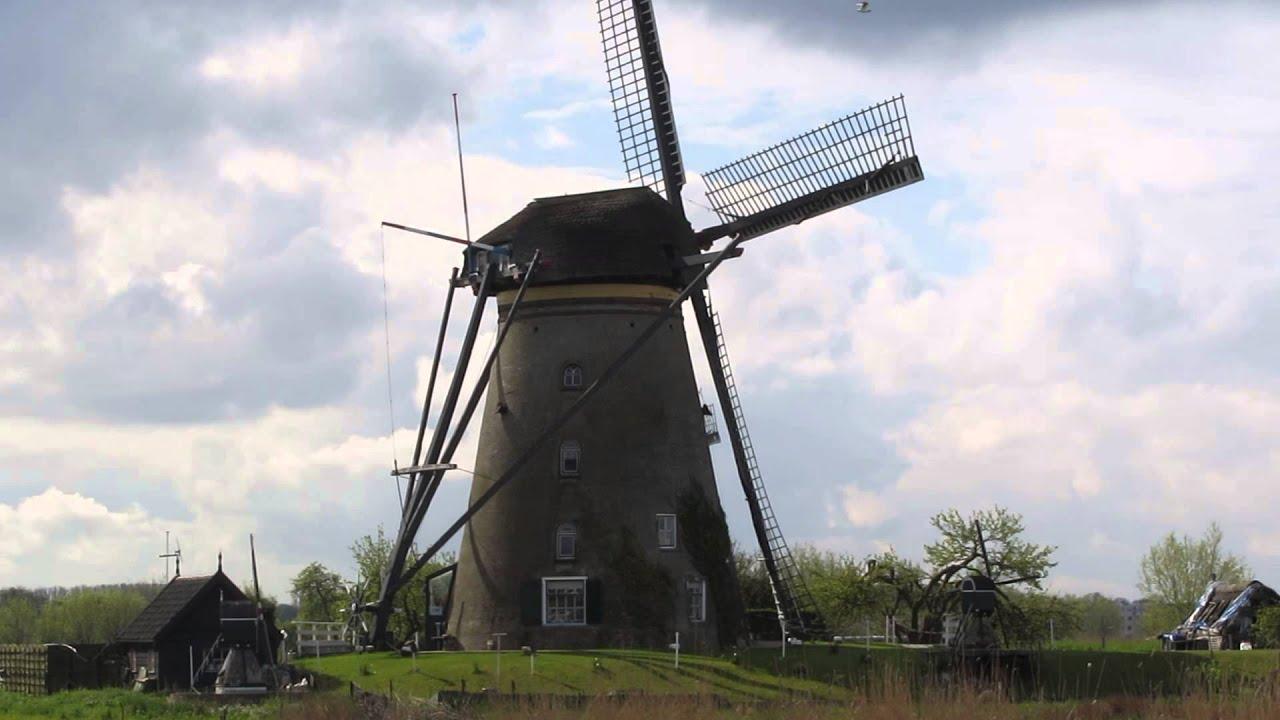Snapvideo: Busrejse til Holland - de flotte vindmøller ved Kinderdijk