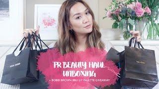 Massive PR Beauty Haul Unboxin…