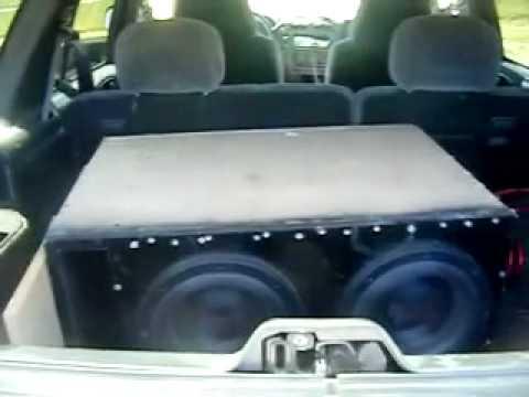 Car Audio-American Bass XFL 10's-MASSIVE Roof Flex!!