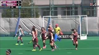 第2日 立命館ホリーズ vs 駿河台大学LADYBIRDS @小矢部ホッケー場 htt...