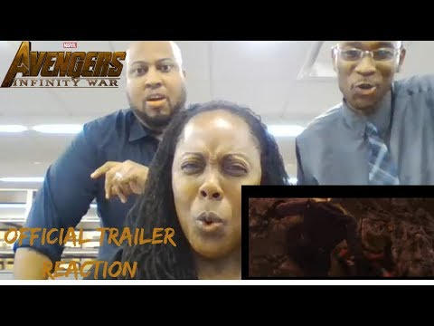Marvel Studios' Avengers: Infinity War Official Trailer(2018) | Reaction