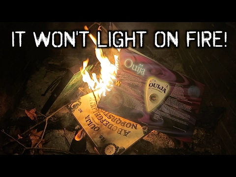 BURNING A HAUNTED OUIJA BOARD! (SCARY) 3AM CHALLENGE | OmarGoshTV