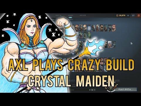Axl Plays Crazy Build - Crystal Maiden Mid