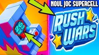 NOUL JOC DE LA SUPERCELL! (RUSH WARS)