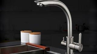 Обзор смесителя GAPPO G4399 с подключением фильтра питьевой воды