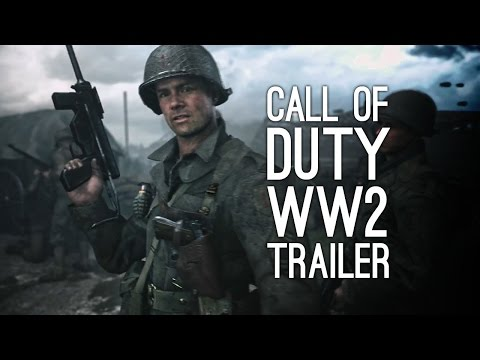 Call of Duty WW2 Trailer: First Trailer for Call of Duty World War 2
