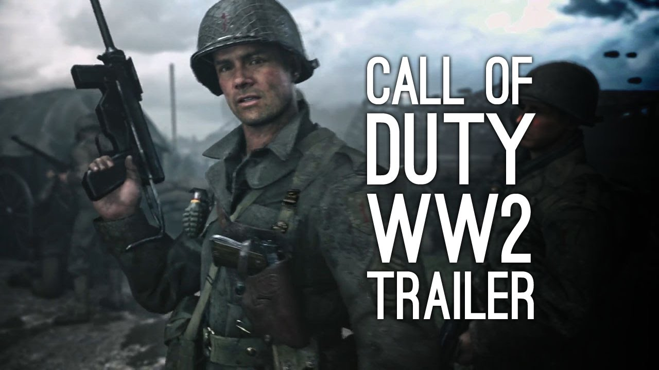 Call of Duty WW2 Trailer: First Trailer for Call of Duty World War 2
