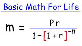 Basic Math For Everyday Life
