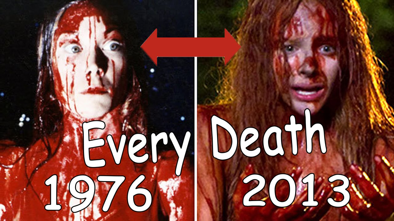 carrie 1976 vs 2013 Original vs remake: carrie welcome to another installment of original vs remake this month's movie is carrie i will be talking about the 1976 original.