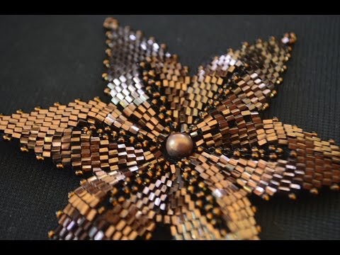 Цветы из бисера.  Мастер класс / Flowers from beads. Beading